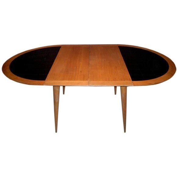 Round Dining Table With Extension At 1stdibs