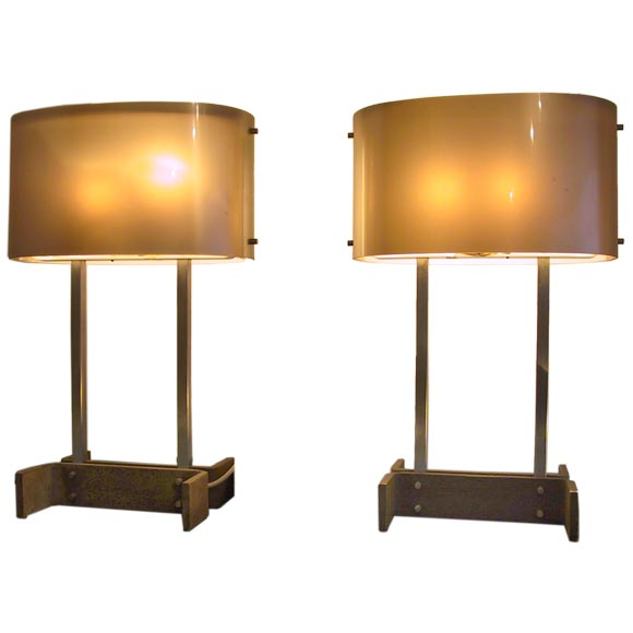 Pair Of Table Lamps For Sale At 1stdibs