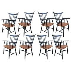 Set of Eight Armchairs by Tapiovaara