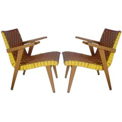 Pair of Armchairs by J. Risom