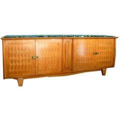 Large Cherrywood Sideboard