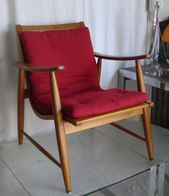 Armchair with Adjustable Seat at 1stdibs