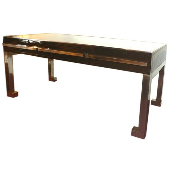 Low center console table at 1stdibs for Low sofa table