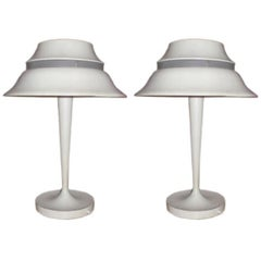Pair of Table Lamps by Jean Perzel