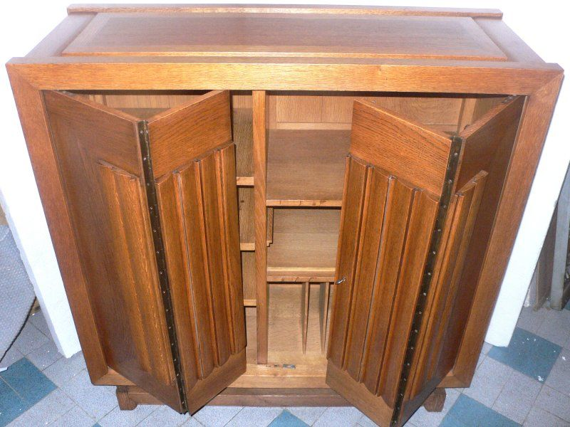 20th Century Pair of Cabinets by Charles Dudouyt For Sale