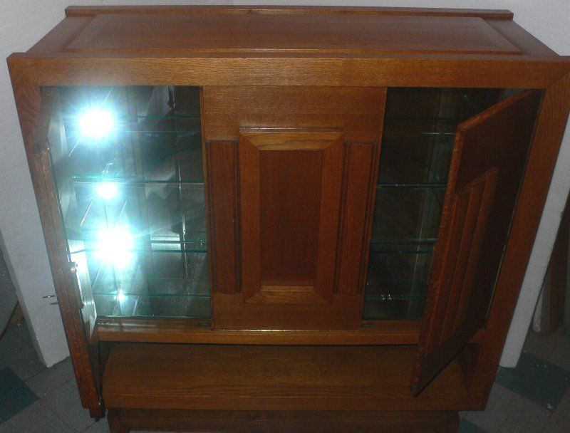 Pair of Cabinets by Charles Dudouyt For Sale 3