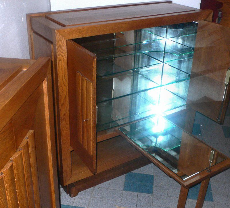 Pair of Cabinets by Charles Dudouyt For Sale 4