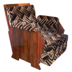 Large Comfortable Club Chair by Majorelle