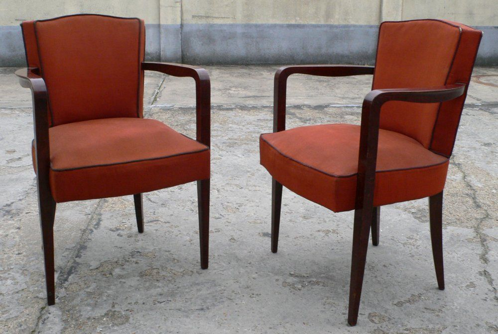 Set of Four Armchairs For Sale 2