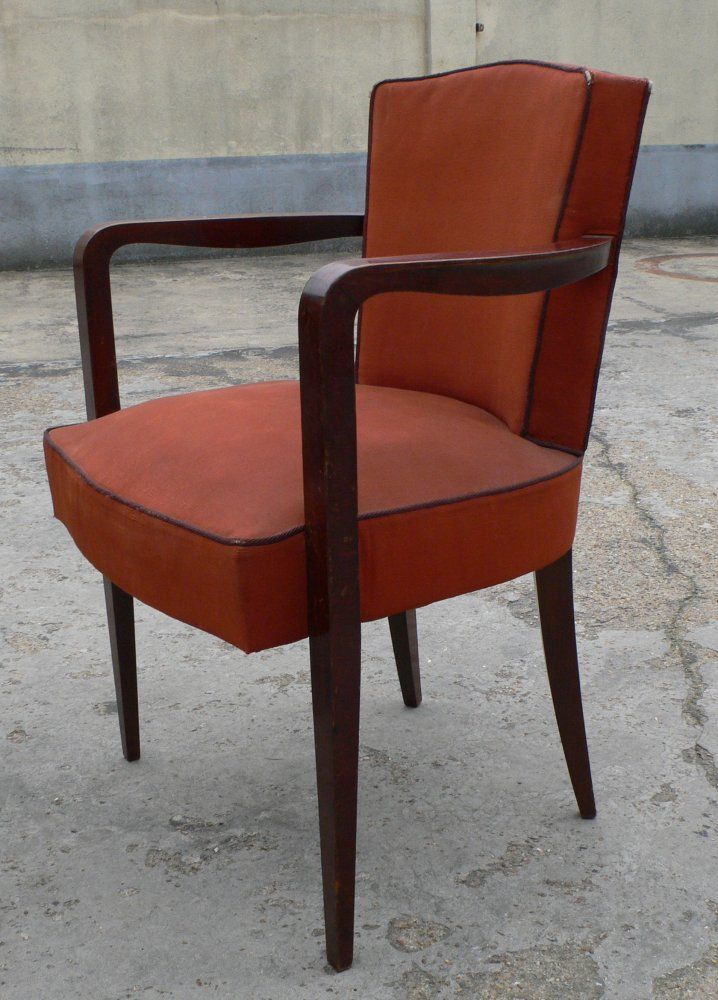 Set of Four Armchairs In Good Condition For Sale In Brooklyn, NY