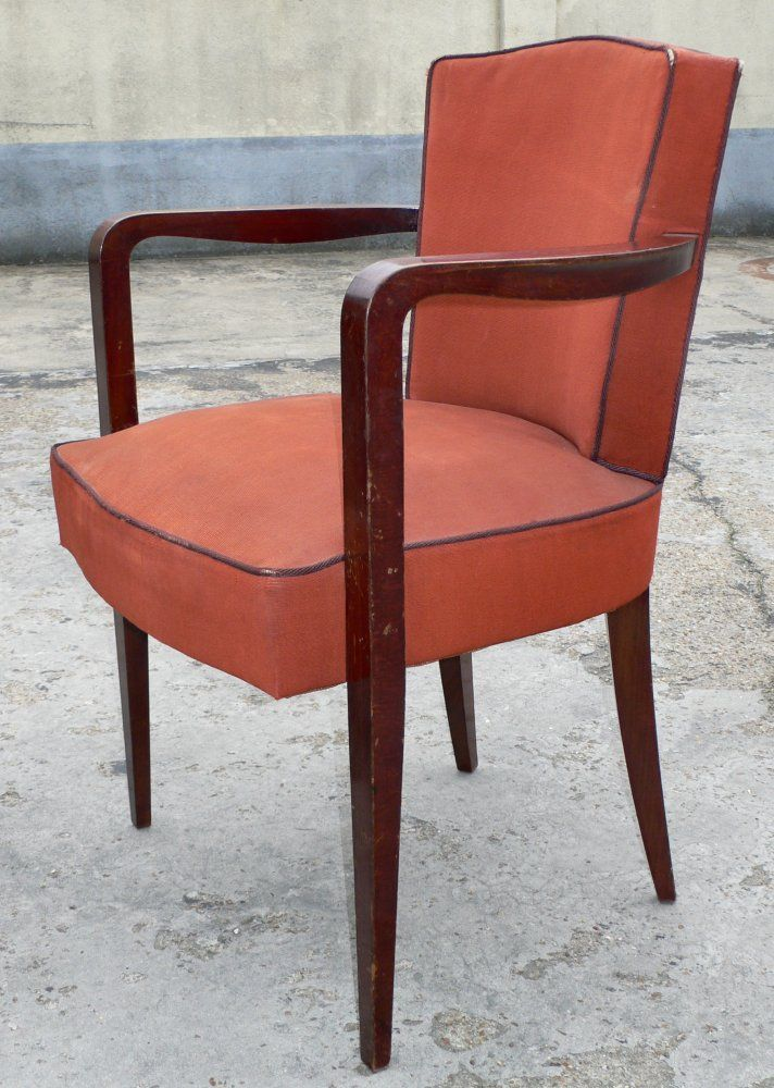 20th Century Set of Four Armchairs For Sale