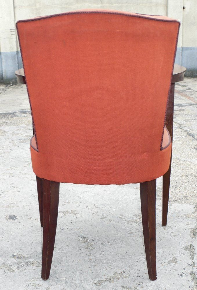 Set of Four Armchairs For Sale 1