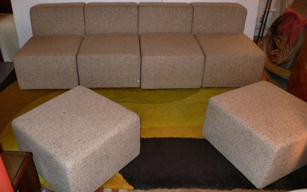 20th Century sofa + by Castelli For Sale