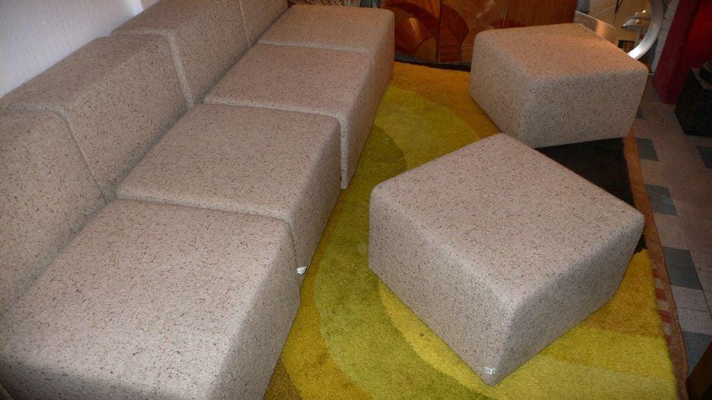 Italian sofa + by Castelli For Sale