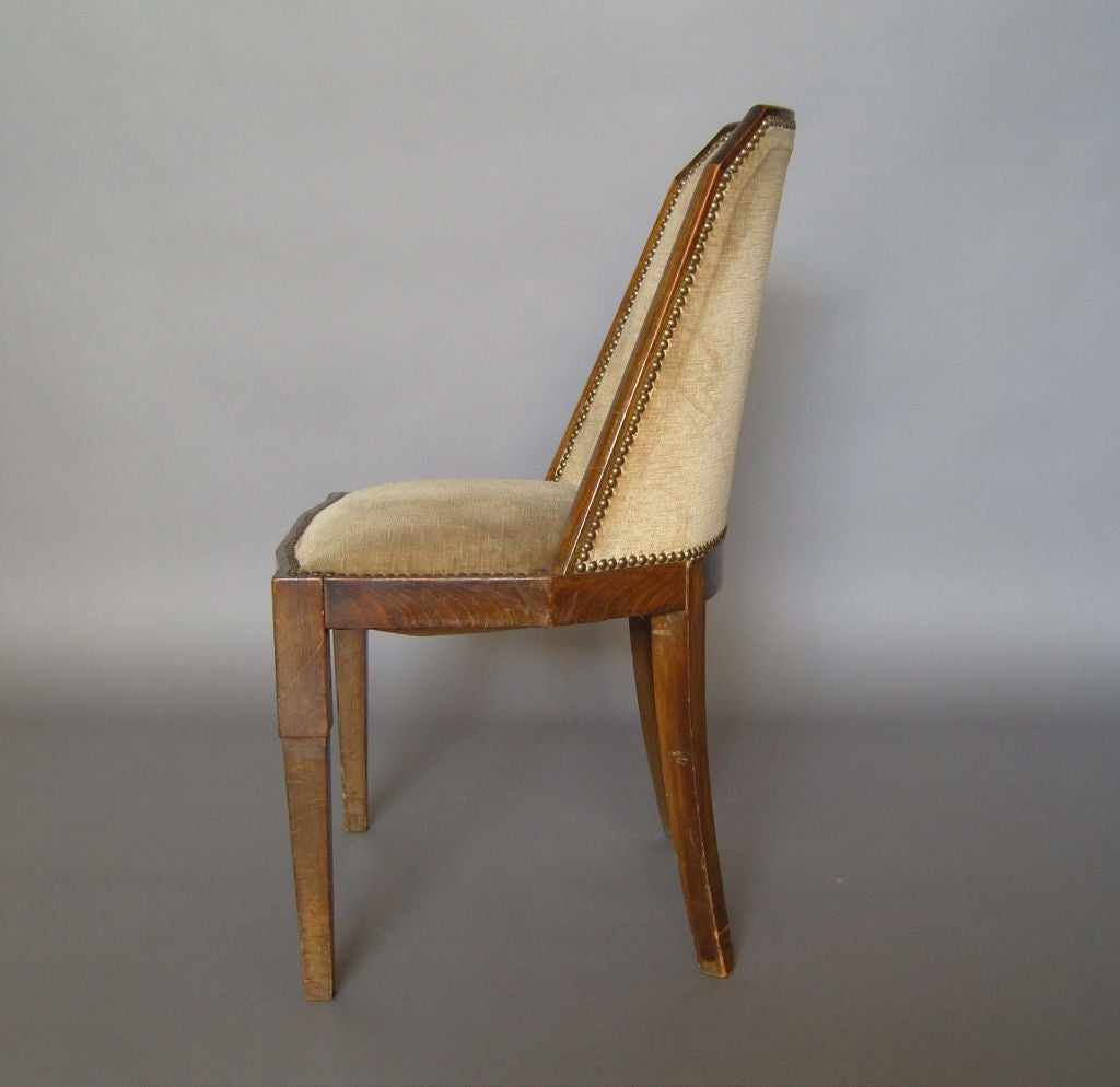 Set Of 12 Art Deco Chairs At 1stdibs