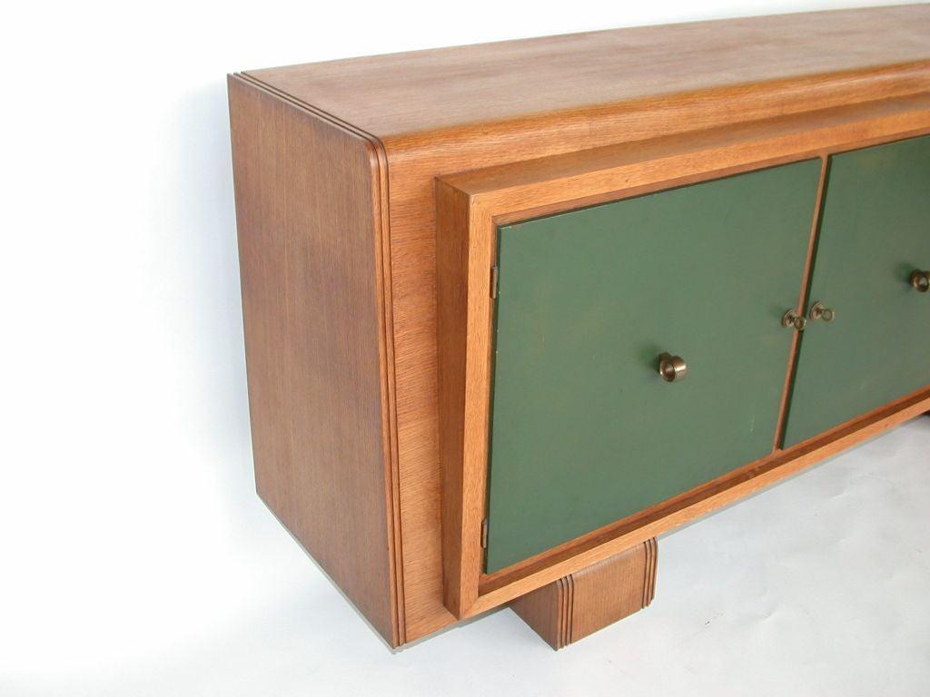 french art deco sideboard by jaque klein at 1stdibs. Black Bedroom Furniture Sets. Home Design Ideas