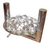 Unusual Glass Ball Table Lamp