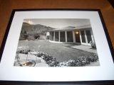 """Rosenfeld Residence, Palm Springs 1940"" by Julius Shulman"