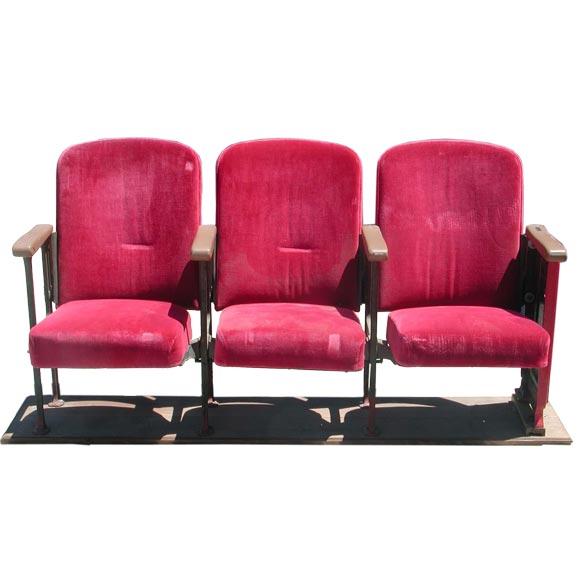 Movie Theater Seats At 1stdibs