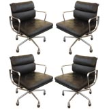 """Set of Four Herman Miller """"Softpad"""" Chairs"""