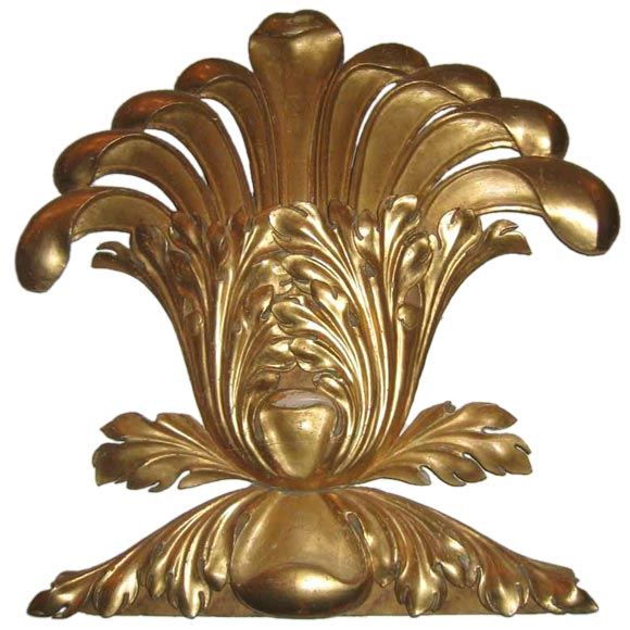 19th c. Giltwood Architectural Element
