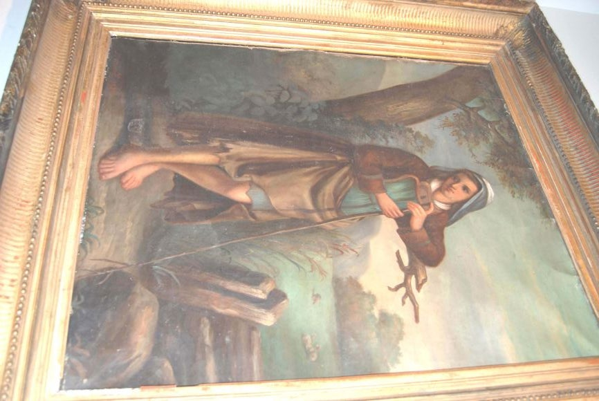 French 19th c. Oil Painting For Sale