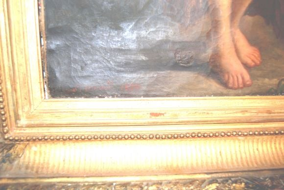 19th c. Oil Painting For Sale 2