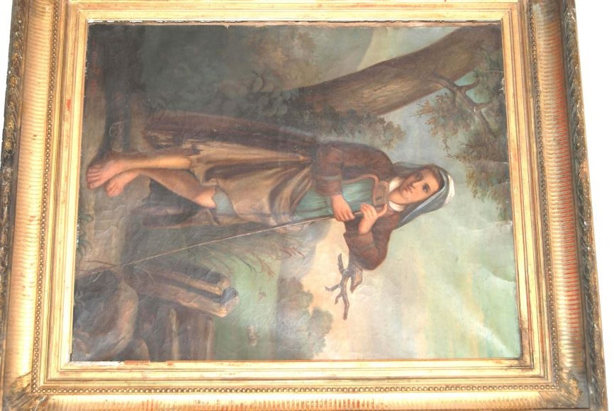 19th c. Oil Painting For Sale 3