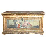 18th c. Giltwood and Painted Box