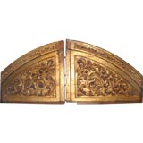 Exceptional Carved and Gilded Architectural Elements