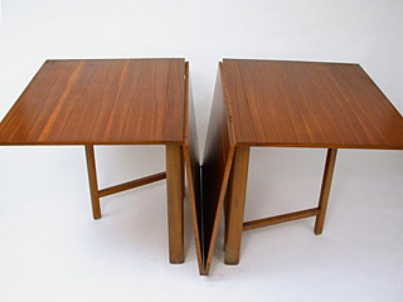 Swedish Maria Drop Leaf Teak Dining Table By Bruno Mathsson For