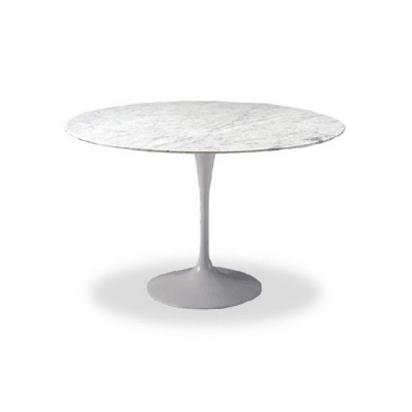 vintage saarinen marble top tulip table by knoll at 1stdibs. Black Bedroom Furniture Sets. Home Design Ideas
