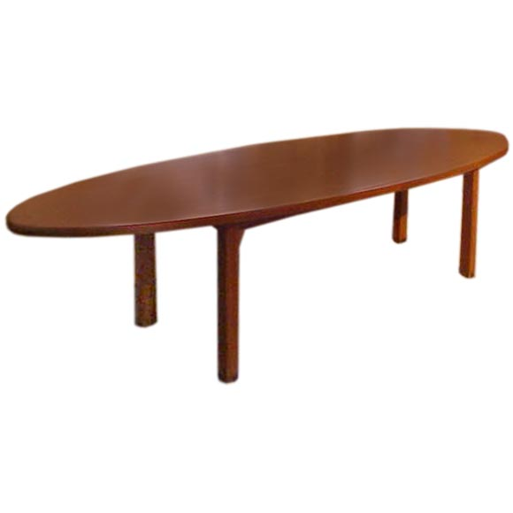 Surfboard Coffee Table By Edward Wormley For Dunbar At 1stdibs