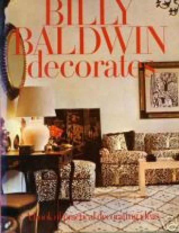 Set Of First Edition Decorating Books By Billy Baldwin 1
