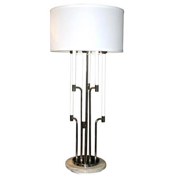 Pair of vintage stiffel candelabra table lamps at 1stdibs
