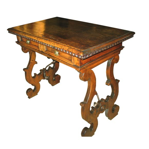 Antique Trestle Table At 1stdibs