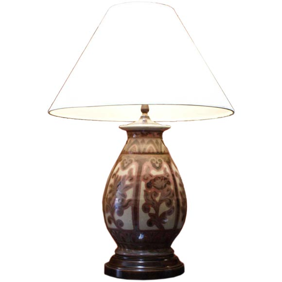 Quot Ming Quot Vase Lamp At 1stdibs