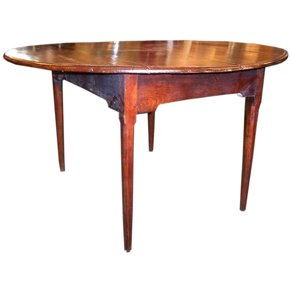 Antique Oval Cherry Dining Table at 1stdibs : 0000219 from www.1stdibs.com size 580 x 580 jpeg 22kB