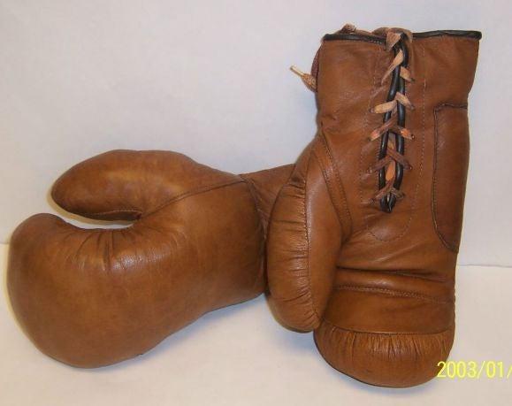 Pair Of Vintage Boxing Gloves At 1stdibs