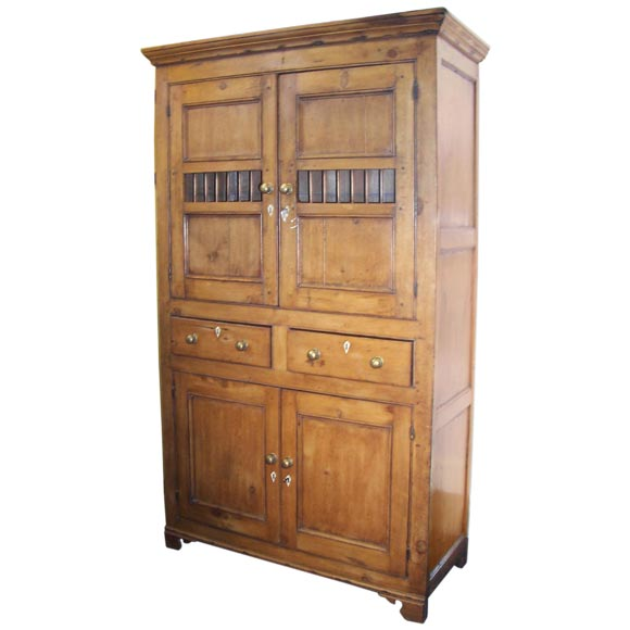 Antique Welsh Bread and Cheese Cupboard For Sale - Antique Welsh Bread And Cheese Cupboard At 1stdibs