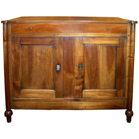 Antique pine top cherry buffet at stdibs