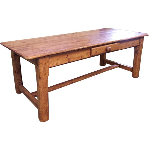 Antique Irish Pine Coffee Table At 1stdibs