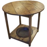 Antique Brasero Tavern Table