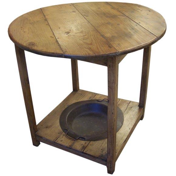 Antique brasero tavern table at 1stdibs - Table brasero ...