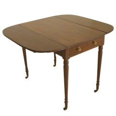 Georgian Mahogany English Pembroke Table