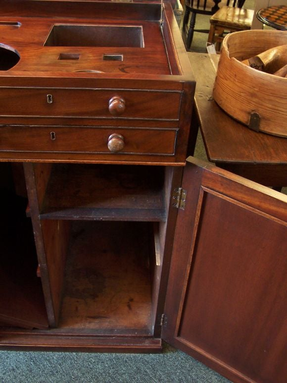 Antique Wet Or Dry Bar Gentleman S Dressing Chest By