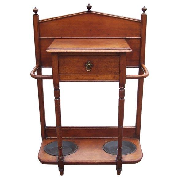 antique small mahogany hall table at 1stdibs