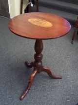 Georgian  Tripod Table with Inlay