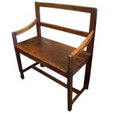 Antique French Small  Country Bench