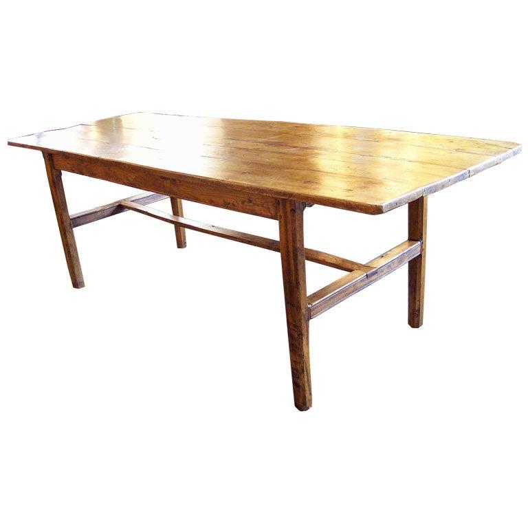 large antique breton elm farm table at 1stdibs